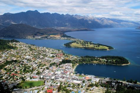 Queenstown Geography